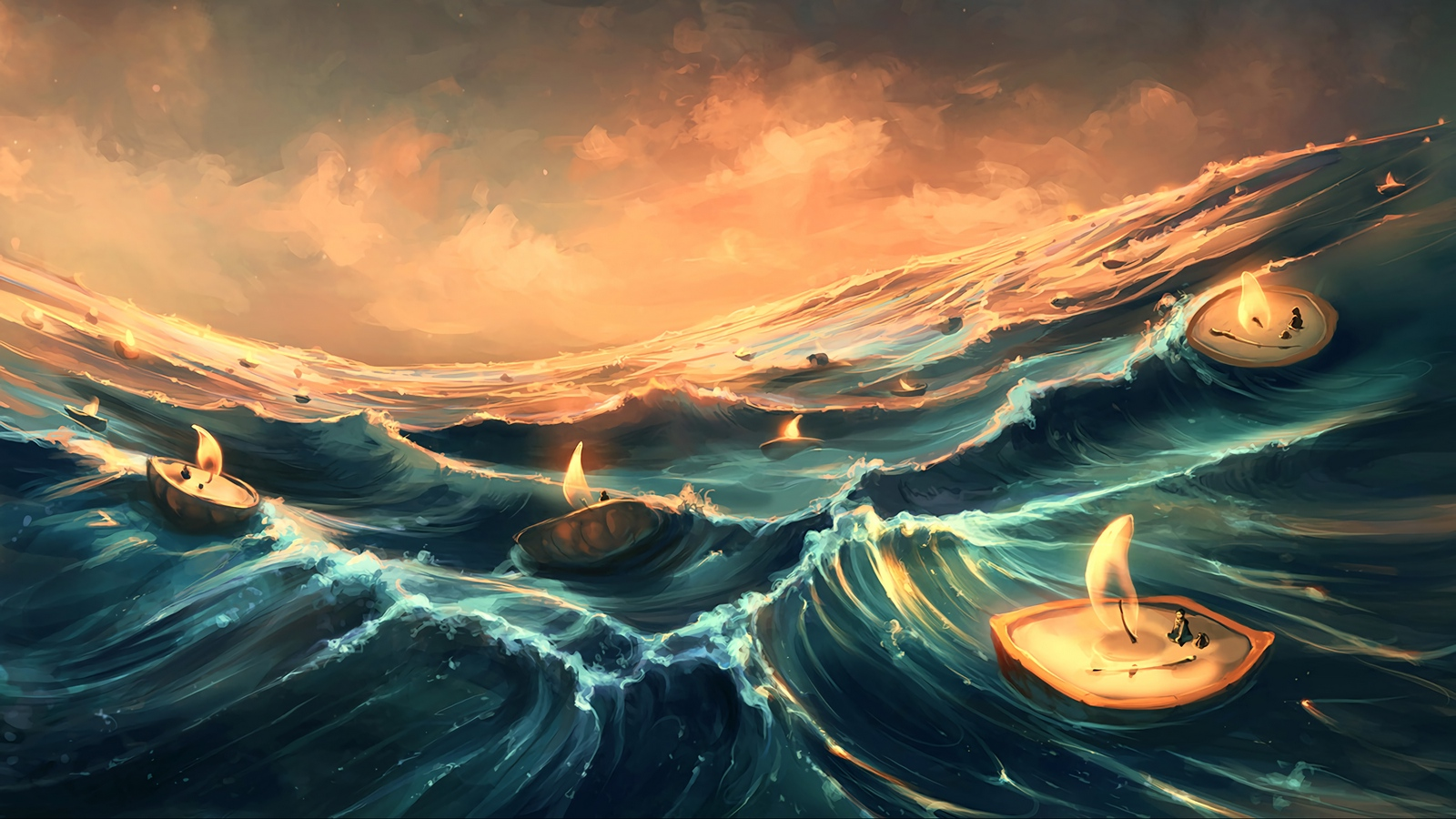 The Waves of Our Destiny